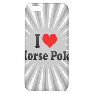 I love Horse Polo iPhone 5C Covers