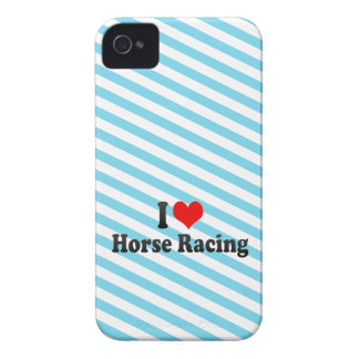 I love Horse Racing Case-Mate Blackberry Case