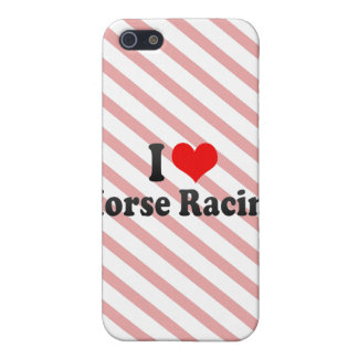 I love Horse Racing Case For iPhone 5