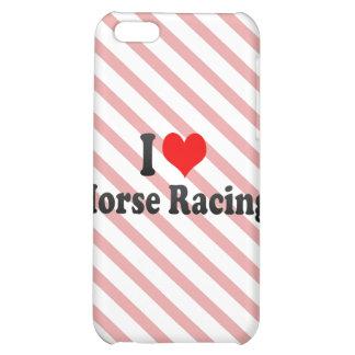 I love Horse Racing iPhone 5C Case