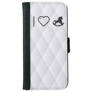 I Love Horse Toy iPhone 6 Wallet Case