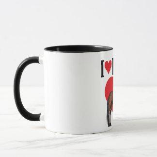 I Love Horses ~ Bay Mug