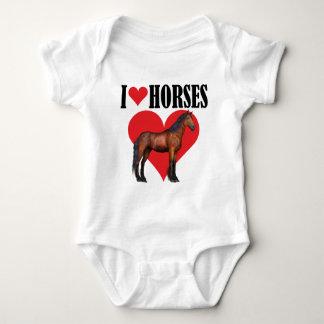 I Love Horses ~ Bay T-shirts