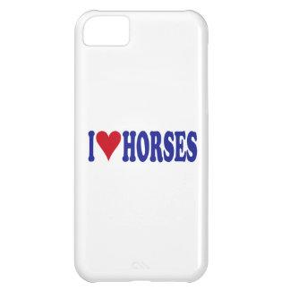 I Love Horses iPhone 5C Cases