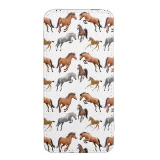I Love Horses Equine Art Smart Phone Pouch