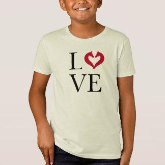 I love horses, heart with horse heads T-Shirt