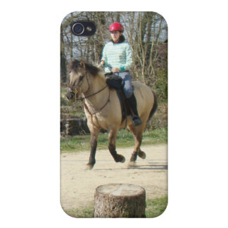 I love horses iPhone 4/4S cover