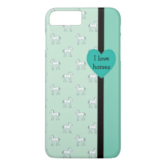 I Love Horses iPhone Case