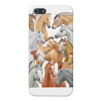 I Love Horses iPhone Case Cover For iPhone 5/5S