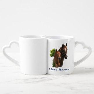 I love horses lovers mug