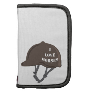 I Love Horses Planner
