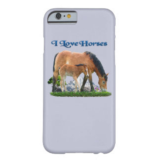 I love Horses products Barely There iPhone 6 Case
