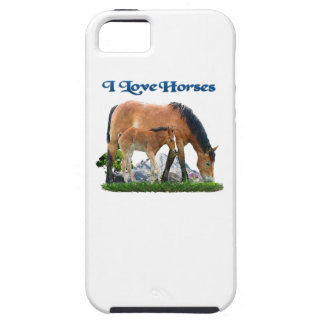 I love Horses products iPhone 5 Case