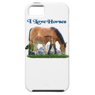 I love Horses products iPhone 5 Covers