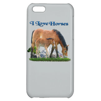 I love Horses products iPhone 5C Case