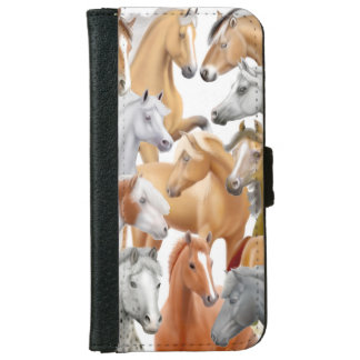 I Love Horses Samsung Galaxy S5 Case iPhone 6 Wallet Case