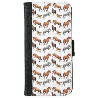 I Love Horses Samsung Galaxy S5 Wallet Case iPhone 6 Wallet Case