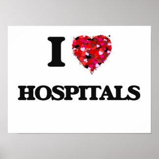 I Love Hospitals Poster