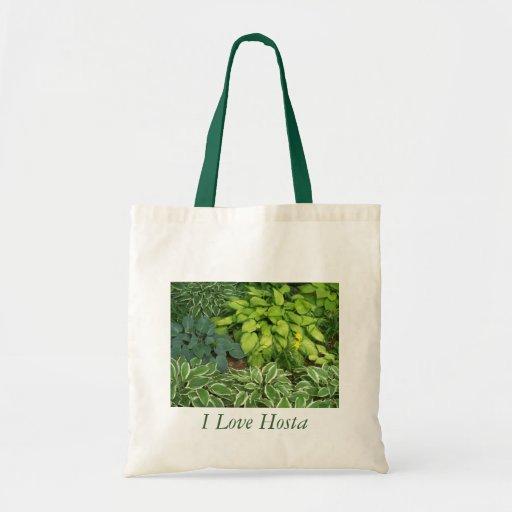 I Love Hosta Tote Bag