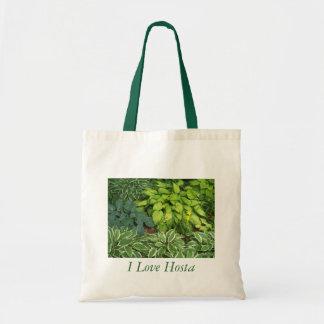 I Love Hosta Budget Tote Bag