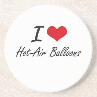 I love Hot-Air Balloons Drink Coaster