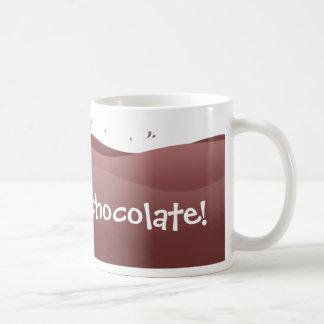 I love hot chocolate - mug