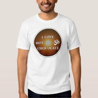 I LOVE HOT CHOCOLATE TEE SHIRTS