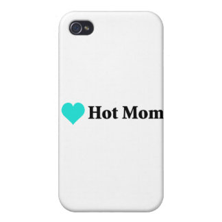 I Love Hot Moms Cases For iPhone 4