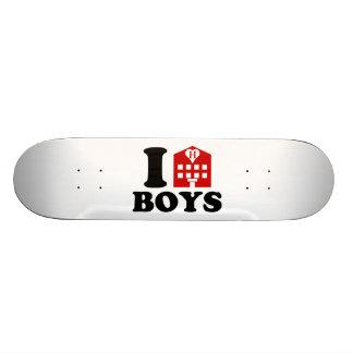 I Love Hotel Boys Skate Boards