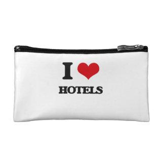 I love Hotels Makeup Bags