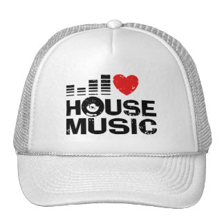 I Love House Music Cap