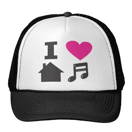 I love house music hats