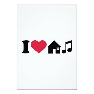 I love House music Custom Invite