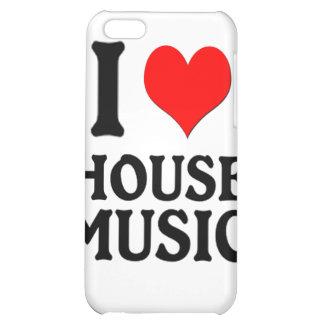 I LOVE HOUSE MUSIC iPhone 5C CASE