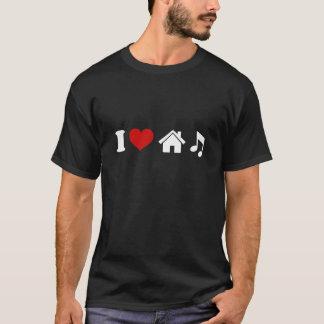 I Love House Music T-Shirt | Ibiza Dance DJ Gift