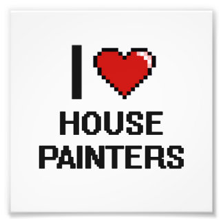I love House Painters Photo Print