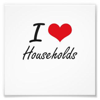 I love Households Photo