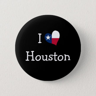 I Love Houston Button