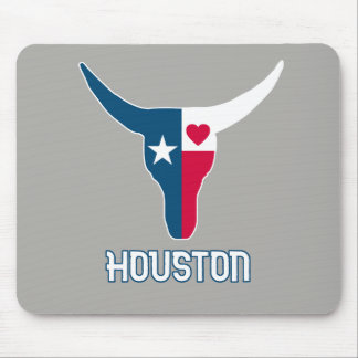 I love Houston. I love Texas Mouse Mat