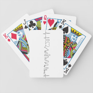 I love Houston in a extraordinary style Bicycle Playing Cards