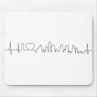 I love Houston in a extraordinary style Mouse Pad