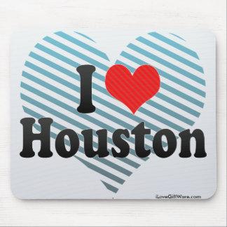I Love Houston Mouse Pad