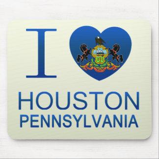 I Love Houston, PA Mousepad