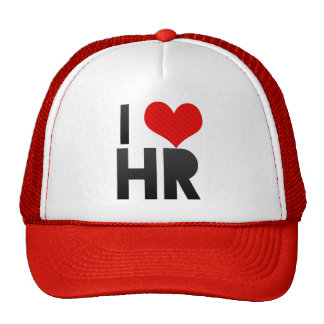 I Love HR Hat