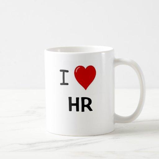 I Love HR  - Double sided HR Mug