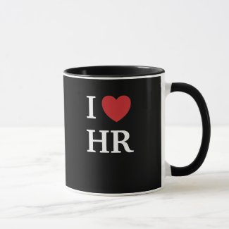 I Love HR I Heart HR 2-sided Human Resources