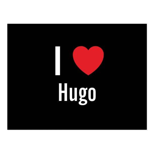 I love Hugo Postcard