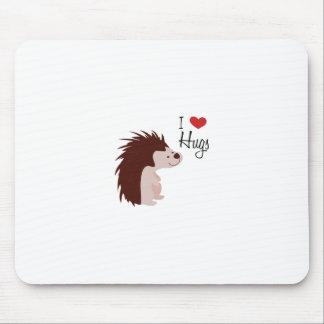 I Love Hugs Mousepad