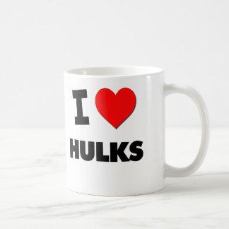 I Love Hulks Coffee Mug