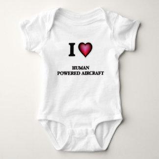 I Love Human Powered Aircraft Baby Bodysuit